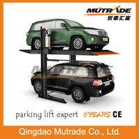 2 Layer 2 Post Hydraulic Mechanical Car Parking Equipment