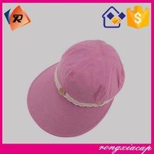 Women detachable lace big brim summer hats