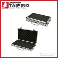 Portable Black Aluminum Hard Case Tool Carry Case Travel Box