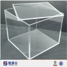 clear acrylic tray with cover
