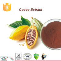 100% high quality HACCP Kosher 10% 20% Theobromine Cocoa seed extract