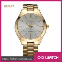 New Stainless Steel Casual Business Gold Watch Geneva Brand Wristwatch Watch Women Dress Watches Men Gift XR1292