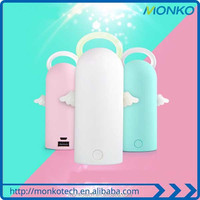 New Product Creative Personalized Anti-Scratch Cute Cartoon Angel portable Mobile Power Bank