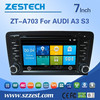 ZESTECH 7'' car multimedia for Audi A3 S3 2003-2011 +GPS+Canbus+USB+DVD