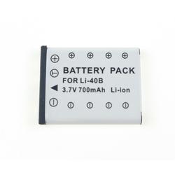 MELASTA 700mAh Li-ion Battery for Olympus LI-40B LI-42B LI-41C and Olympus D-630 D-720 D-725 IR-300 Replacement Battery