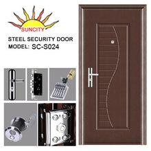 Hot sale High quality steel wood mdf armored doors / Armored Metal Entrance Door SC-S024