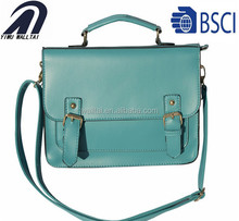 Fashion designer PU handbag clutch bag for women