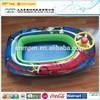 OEM EN71 PVC inflatable toy pontoon boat