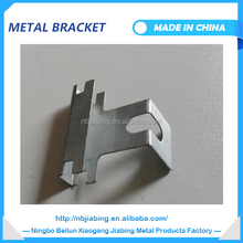 Plated metal angle bracket