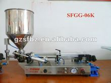 Full Pneumatic 5-60ml Yogurt Piston Filler Equipment with High Precision(V)