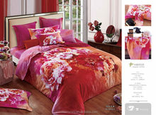 New style colorful Jacquard printed Made in P.R.C duvet cover set