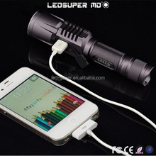 Multifunction most Powerful Flashlight to Emergency Charging for Phones