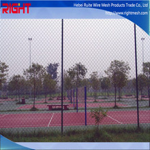 Aluminum Coated Steel Chain Link Fence Fabric