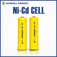 China manufacturer Shenzhen Electronics Rechargeable Nicd Battery AA300mah 1.2v