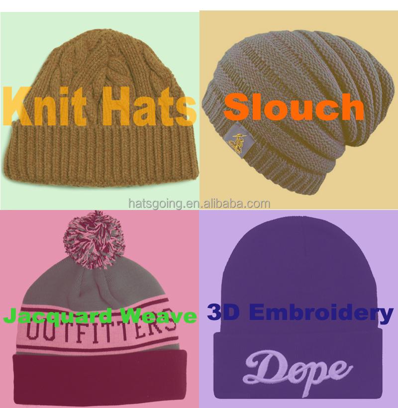 Custom Trendy Fold Up Ski Hat Manufacturer