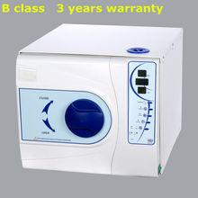 12 litlers de alta temperatura y alta presión esterilizador de vapor de la clase b 3 años de garantía