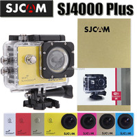 1.5inch LCD Multifunctional 30M Waterproof 2K 1440P Mini Extreme Sport Camera SJ4000 Plus with USB-TO-AV OUT FPV Function