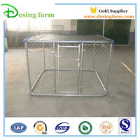 6'x6'x4' chain link dog kennel run for sale