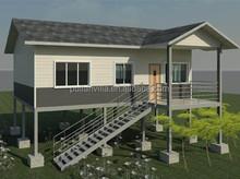 Custom made light steel modern prefabricated villa
