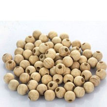 Smoothly sanded surfaces beech wood beads,Natrual Bulk wooden beads factory price