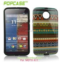 mobile phone case for motorola moto X+1 TPU cover with shine design