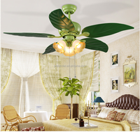 ABS Material and LED Light Source wireless remote control circuit 48inch Ceiling fans.