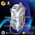 Venta de máquina de la belleza multifuncional caliente con e-light + ipl + rf + cavitación + láser Nd: YAG (CE ISO SGS TUV)