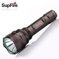 Updated model powerful tactical SupFire LED flashlight F9