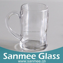 Hot Sell 380ml Soccer Beer Machine Pressure Transparent Wholesale Cheap Glassware Cup