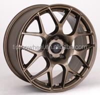 on line shop 17 inch wheel rim flat black fit for AUDI guangzhou rim