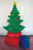 Hot Sale Inflatable Christmas Tree Nnd Gift Box Shape With Light / Outerdoor Decoration /Holiday Decoration