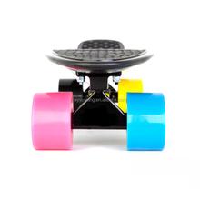 "Plastic skateboard 22"" longboard Skate board Cruiser min colour complete skateboard"