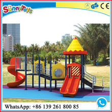 preschool combined swing baby castle playground