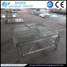 Aluminum Stage, Concert Stage, Glass Platform Stage