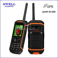 Rugged Waterproof Cell Phone Outdoor X6 With GPS optional Bluetooth Walkie Talkie Function ip67