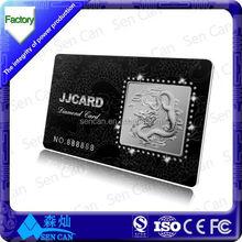 Shanghai vendita calda iso114443a 13,56 mhz rfid custom cartoline stampate per la palestra di controllo di accesso