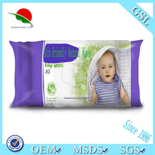 natural super soft biodegradable baby wet wipes with private label/ 30 years experience
