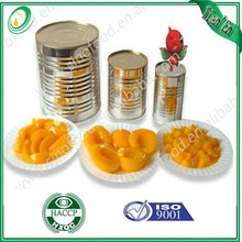 canned peach /canned yellow peach / sweet canned peach slices
