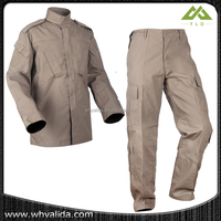 2015 latest Khaki Military Officer Camouflage Clothing Uniform
