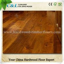 T&G system Natural smooth surface Asian walnut acacia wood flooring