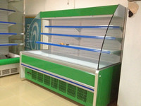 2m Vegetable & Fruit Cooler Display for Supermarket/ Chiller 2000*1060*1600