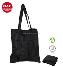 China Factory Wholes Customized Recyclable 210D Nylon Zipper Laundry Bag
