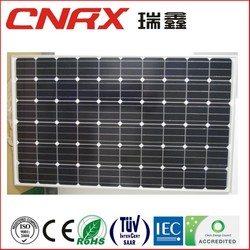 solar panel manufacturers in china Ruixin Group Mono 245W best price per watt solar panels