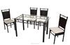 Best Sale Outdoor Furnture Metal Dinning Set Woven Rattan Furniture DS-816(1+4)