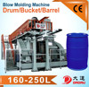 Extrusion blow molding machine for 30-1200L containers