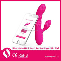 Bluetooth G-Spot Waterproof Vagina Dildo WiFi Free Shipping Rabbit Vibes Vibrator Electric Shock Sex Toys Bullet Vibrator