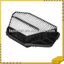 De alta calidad de filtro de coche 17220-p0a-a00/17220-p0a-000/5-86000231-0 coche del filtro de aire para honda