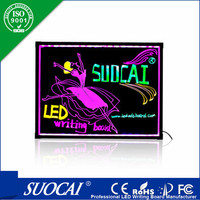 wholesale high quality advertising led write on board