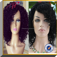 Wholesale cheap Brazilian human hair full lace wig,afro kinky curly human hair wigs
