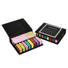 hard cover sticky note in leather case Calculator/Sticky Note Pad